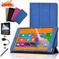 "Caso Estande Capa de Couro Original Para Teclast X80HD X80 Plus 8 ""Acessórios Tablet Ímã Inteligente Despertar do Sono Virar Folding Capa"