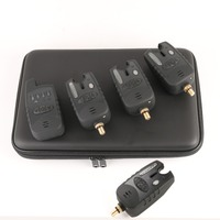3pcs Wireless Carp Fishing Tackle Bite Alarms With A Case New Transmitter For Fishing FREE SHIPPING