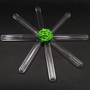 Image 3 - 100 stücke Kunststoff Reagenzglas 15x150mm DIA15mm Klar, Hochzeit Gunsten Partei Bevorzugung Candy Jar