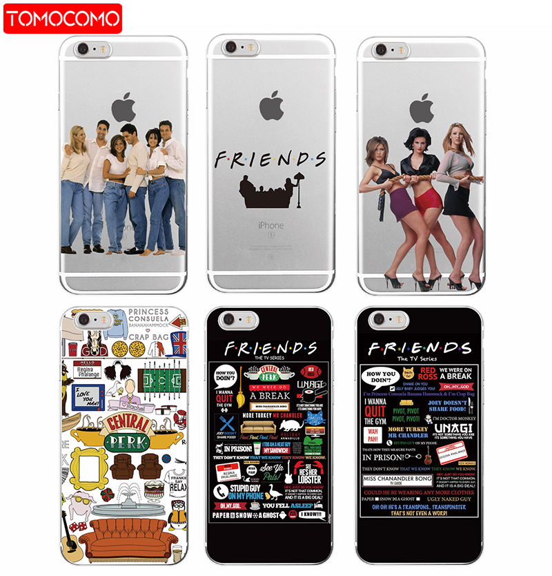 TOMOCOMO <font><b>Friends</b></font> <font><b>TV</b></font> <font><b>Show</b></font> Funny Central Perk Park Soft <font><b>Phone</b></font> <font><b>Case</b></font> Cover Coque For iPhone 7Plus 7 6 6S 6Plus 8 8plus X Samsung