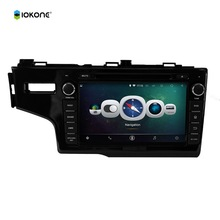 """8""""  Android 4.4 Car DVD Player for HONDA 2014 FIT Left 3G iPod Audio Input Bluetooth SWC Touch Screen GPS Navigation"""