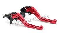 Motocycle Accessories For SUZUKI GSX 600/750F KATANA 98-06 Short Brake Clutch Levers  Red