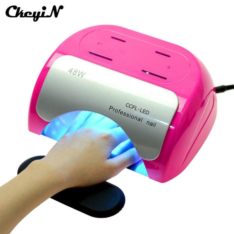 48W CCFL+LED UV Lamp Nail Dryer Nail Art Gel Curing Automatic Induction Timer Setting Nail Art Tools