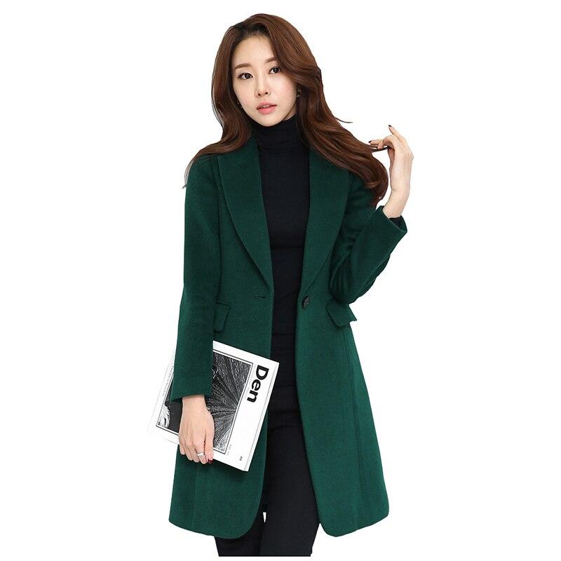 Popular Women Winter Dark Green Coat-Buy Cheap Women Winter Dark ...