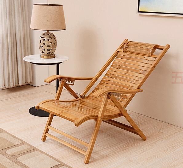 Foldadble Bamboo Garden Chair  3