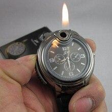 Fashion Men's Quartz Wrist Watches with Lighter Creative Mil