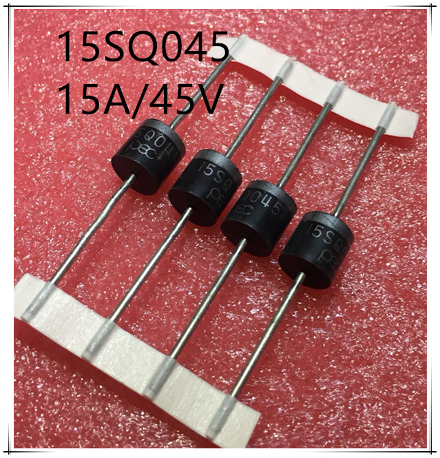 NEW 10PCS/LOT 15A 45V 15SQ045 PEC Schottky Barrier For DIY Solar Cells Panel