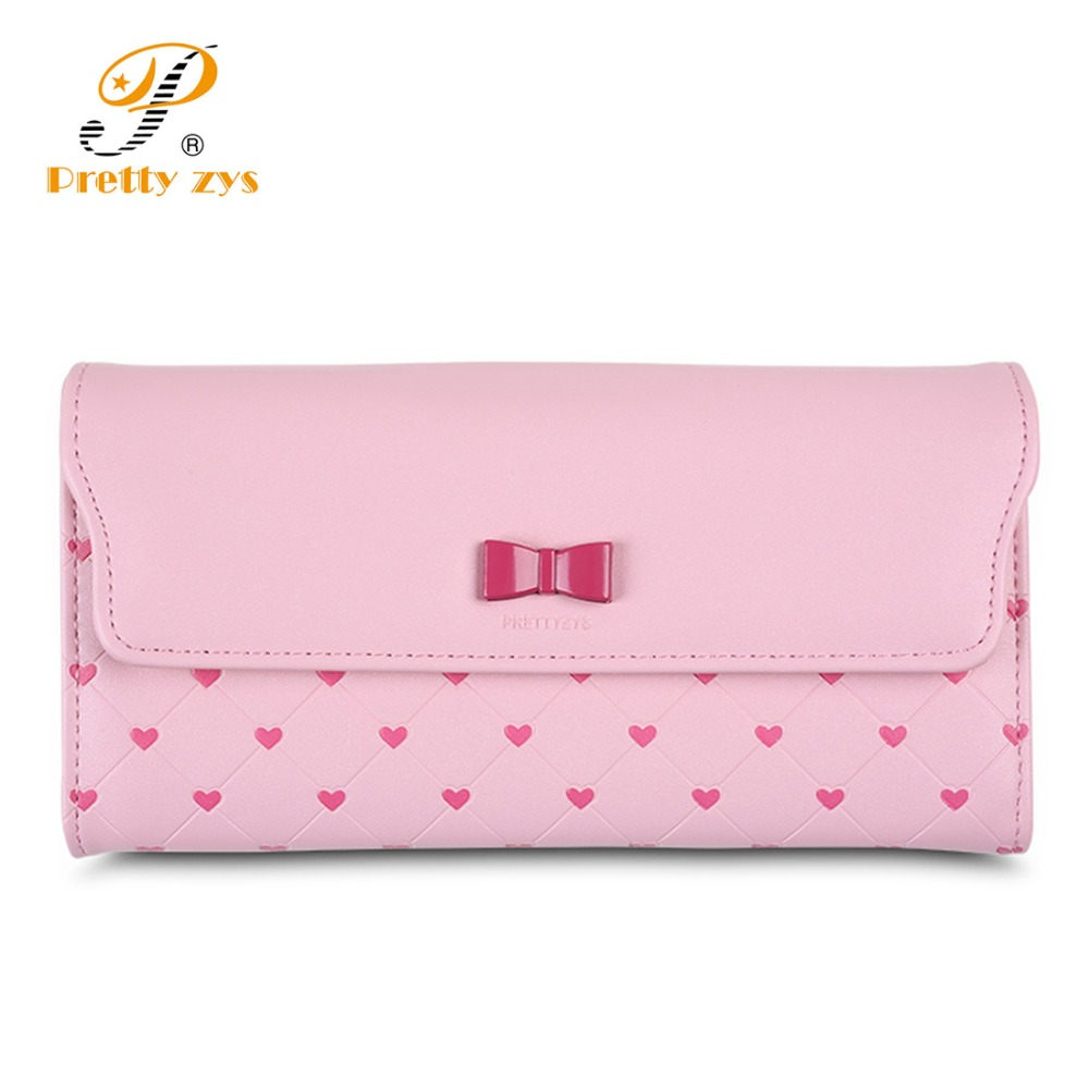 2018 Lovely Leather Women Wallet Long Portable Multifunction Wallets Hot Female  Change Lady Coin Purses Card 0023d9d55a642