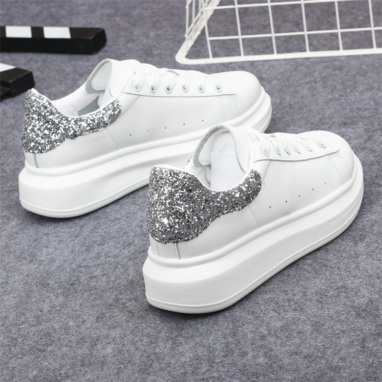 New Fashion Vulcanize Shoes Trainers Women Sneakers Casual Shoes Basket Femme PU Leather Tenis Feminino Zapatos Mujer Plataforma 66