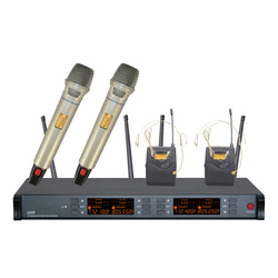 Packet mail R-841 dual channel wireless microphone wireless microphone speaker microphone two microphones
