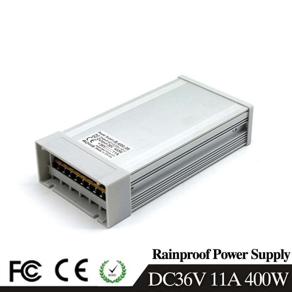 400W 36V 11A Single Output Switching power supply for LED Strip light 110V//220V