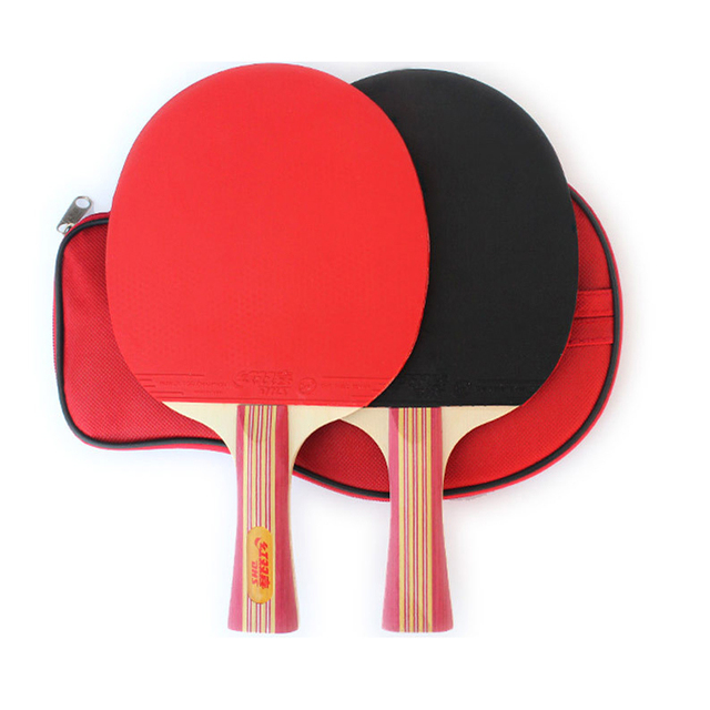 New 2pcs/lot Table Tennis Bat Racket Long Short Handle Ping Pong ...