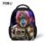 De dibujos animados en 3D animal niños bolsas escuela para el bebé chicos divertidos gafas frescos tigre kid schoolbag mochila escola sac a dos 12 pulgadas