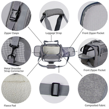 Breathable Soft Carriers For Dogs