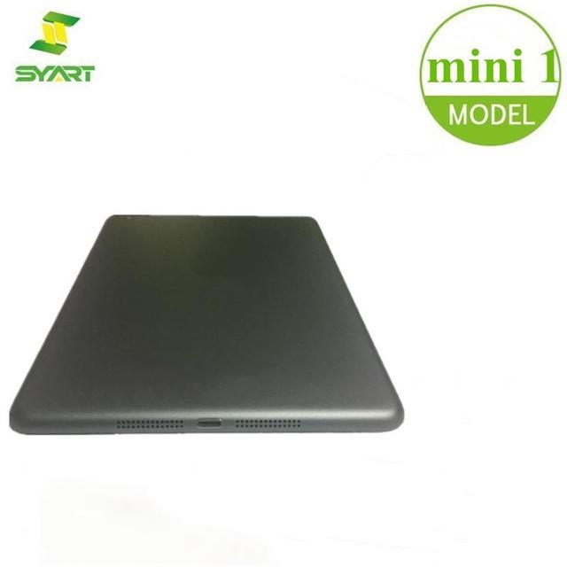 Đối với iPad Mini 1 2 Wifi/3 gam Pin Nhà Ở Cửa OEM Thương Hiệu New Cover Quay Lại Xám Bạc Trường Hợp đối với iPad Mini 2 3 4 Wifi/3 gam Phiên Bản