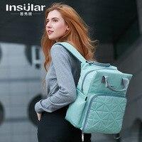 Сумки для подгузников Подгузники детские бутылочки подгузники мумия сумки для беременных туристический рюкзак для женщин BAO4