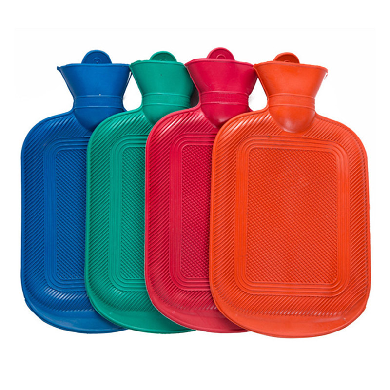 Rubber Hot Water Bag Hand Warming Water Bottles Winter Thermal Sack Hot Water Bottles E2S
