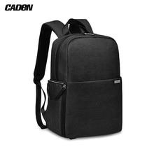 CADeN L4 большой рюкзак для камеры DSLR сумка дорожная сумка для Canon sony Nikon SLR Объективы для камеры штативы аксессуар для лэптопа