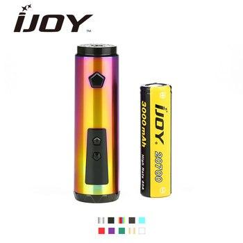Original IJOY Saber 100 20700 VW MOD 100W Output by 20700 Battery 3000mAh Advanced IWEPAL Chip Saber E-Cigarette Vape Pen Mod