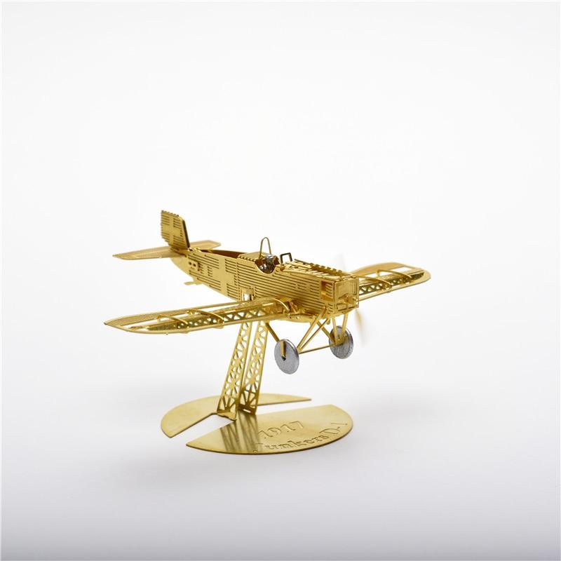 1/160 Skala Junkers D-1 DIY Metalna 3d slagalica sastavljena model - Igre i zagonetke - Foto 4