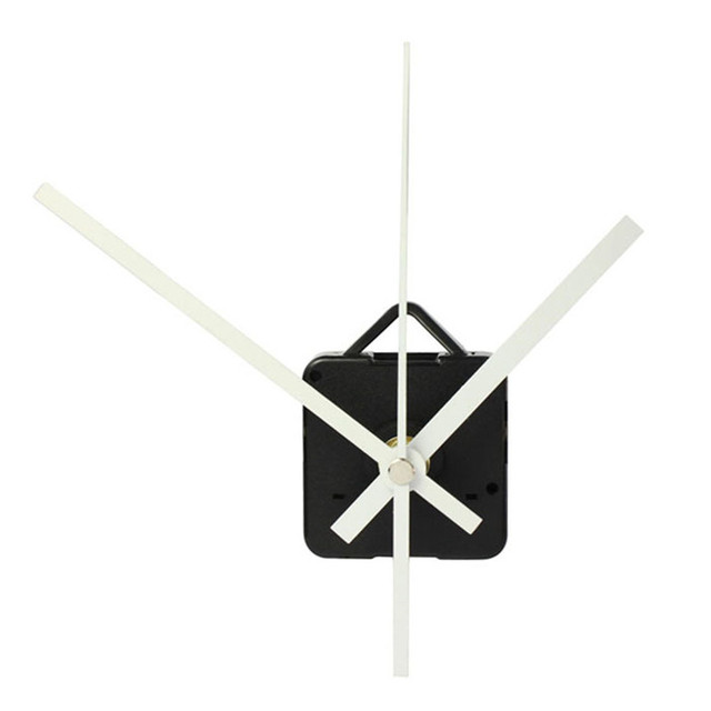 House LC Clock Accessories  High Quality Quartz Clock Movement Mechanism with Hook DIY Repair Parts+White Hands 18MAY30 DropShip