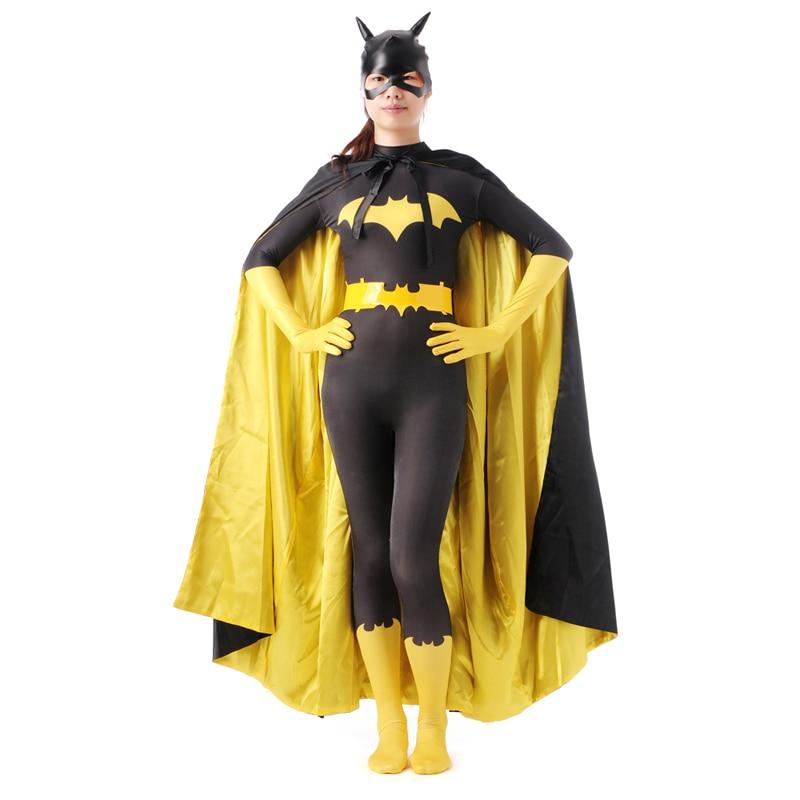 High Quality Batman Spider man Halloween Costumes For Men Women Adult Child Lycra Spandex Zentai Anime