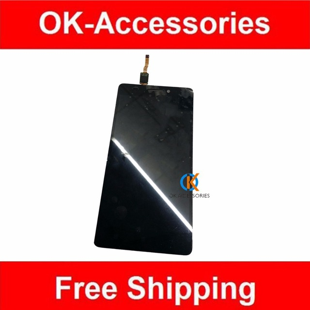 Black Color 100% High Quality For Lenovo K3 Note K50 K50-T5 LCD Display+Touch Screen Digitizer Assembly 1PC/Lot