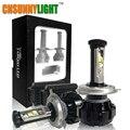 Super Bright 12000LM Car LED Headlight Kit H7 H4 H11 9005 HB3 9006 HB4 9012 H13 9007/4 Turbo Replacement Bulbs 3000K 6000K 4300K