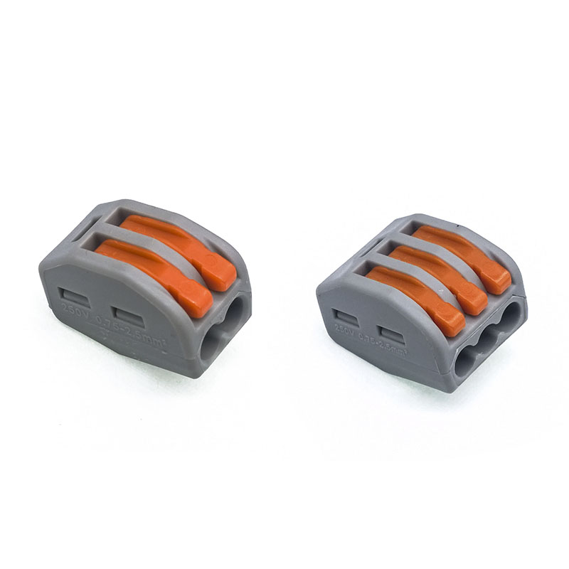 10 pcs/lot WAGO 222-412(pct-212) Universal Compact Wire Connector 2 pin 3P 5P Conductor Block connector 222-413 222-415