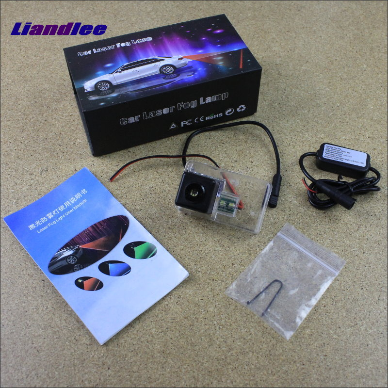 Liandlee Anti Collision Laser Fog Lights For Citroen DS4 DS 4 2010~2015 Car Rear Distance Warning Alert Line Safe Drive Light car tracing cauda laser light for volkswagen vw jetta mk6 bora 2010 2014 special anti fog lamps rear anti collision lights