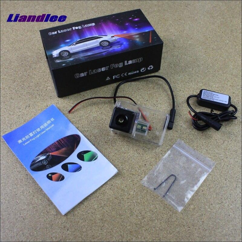 Liandlee Anti Collision Laser Fog Lights For Citroen DS4 DS 4 2010~2015 Car Rear Distance Warning Alert Line Safe Drive Light