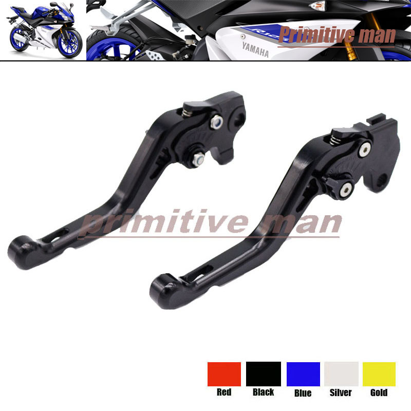 ФОТО For YAMAHA YZF R125 YZFR125 YZF-R125 2008-2011 Motorcycle Accessories Short Brake Clutch Levers Black