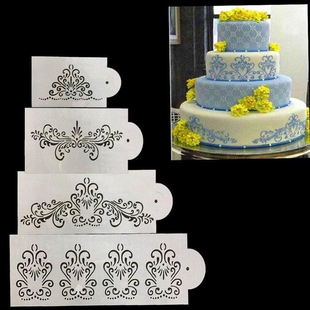 Hochzeit Kuchen Schablone Grenze Kuche Kuchen Grenze Flower