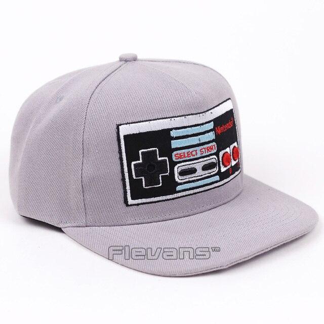 Funny Creative Design Nintendo Console Cap Hat Men Women Snapback Caps  Baseball Hats 44fa17b37f9