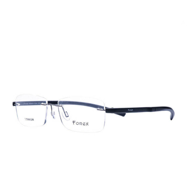 69cae2dec77 Fonex 2017 Ladies Myopia Rimless Glasses Women men Plastic Titanium Memory  Square Eyeglasses Female Optical Frame