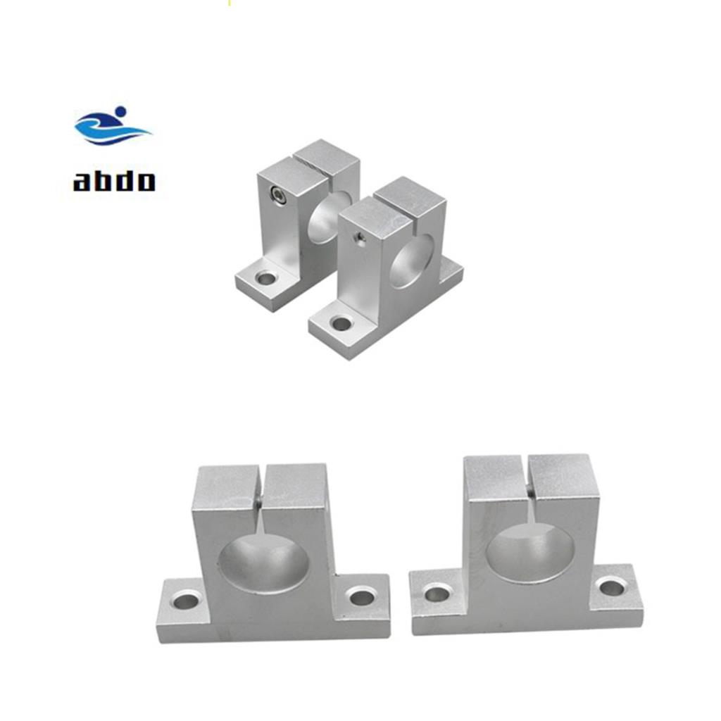 High quality 4 pcs-lot Free Shipping SK8 8mm linear bearing rail shaft support XYZ Table CNC Router