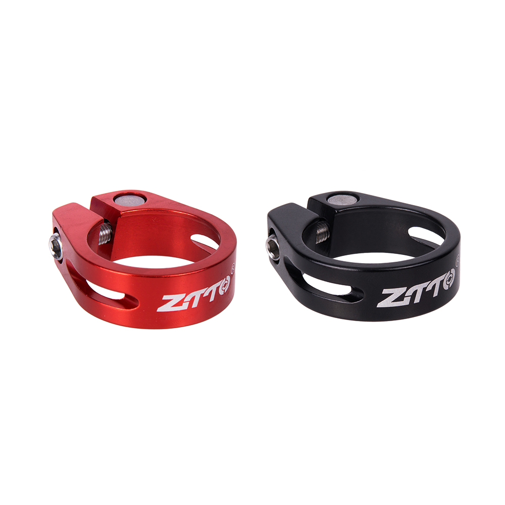 ZTTO Tube Clip Road MTB Bike Mountain Bicycle Seatpost Clamp 34.9mm Aluminum CNC