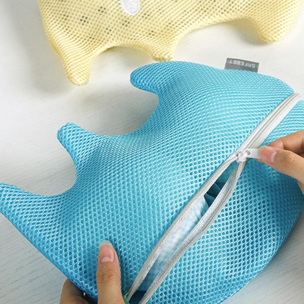 Cartoon Animal Bra Underwear Laundry Bags Clothes Protection Socks Cleaner Storage Organizer Lingerie Mesh Washing Basket