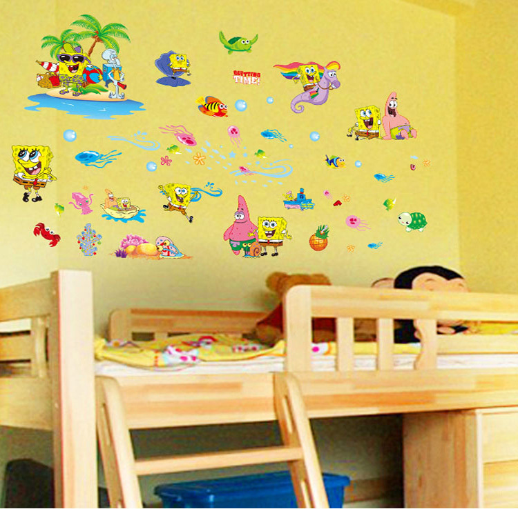 Sticker Tablet Picture More Detailed Picture About New Spongebob - Spongebob decals wall