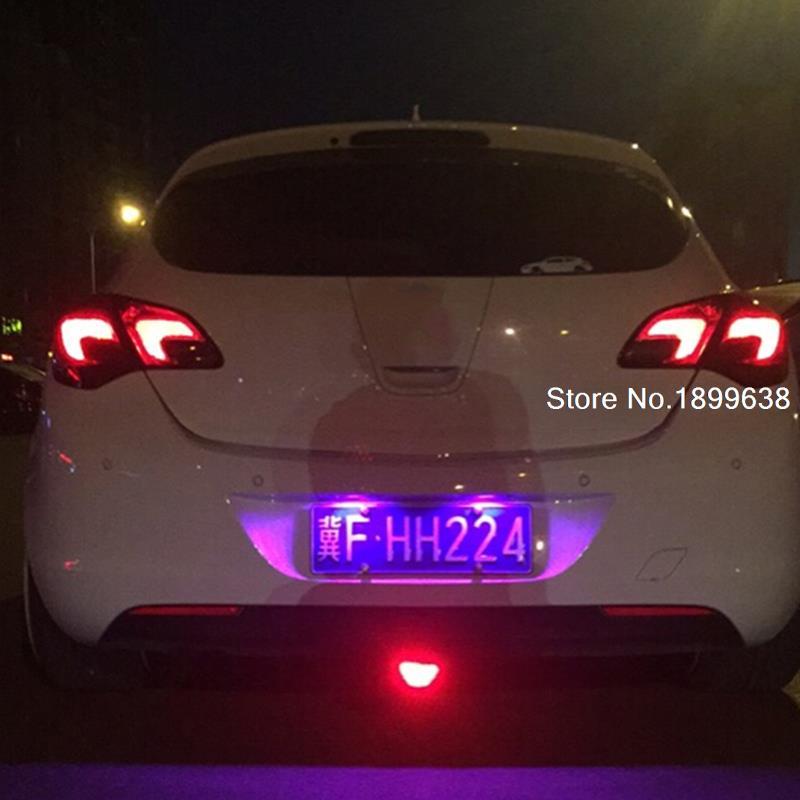 2pc safe T10 light 194 W5W LED license plate lights LED ...