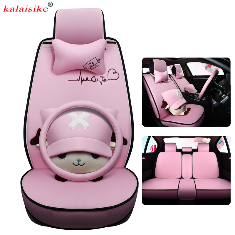 Kalaisike Flax Universal Car Seat Cover For Acura All