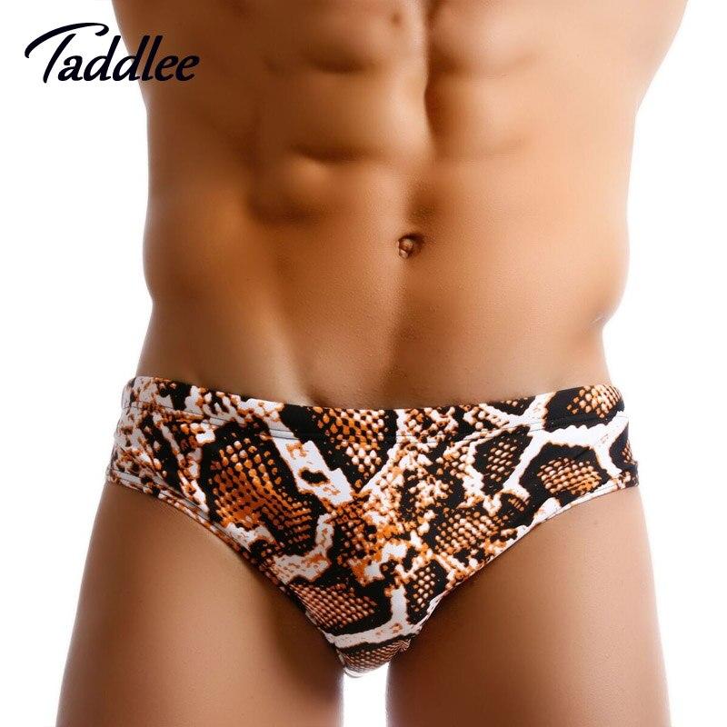 Taddlee Brand Sexy Mens Swimwear Swimsuits Swim Briefs Bikini Men Swimming Surfing Board Shorts Trunks Gay Penis Pouch Low Waist