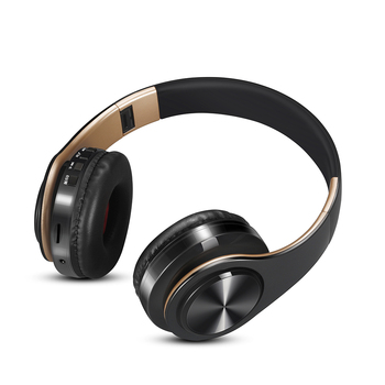 Free shipping new Gold colors Bluetooth Headphones Wireless Stereo Headsets earbuds with Mic /TF Card Audio Audio Electronics Electronics Head phone Headphones & Headsets color: Blue black|Blue white|Gold black|Gold white|Green black|Green white|Orange black|Orange white|Red black|Red white|Rose gold black|Rose gold white