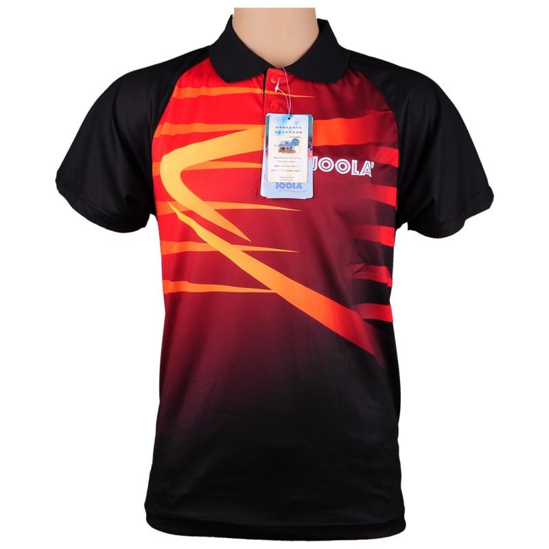 JOOLA Table tennis clothes unisex clothing T-shirt short sleeved shirt ping pong Jersey Sport Jerseys