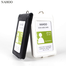 NAHOO Id Badge Holder Retractable Nurse Lanyard Reel Name Tag Holder Passport IC Work Permit Card  Employee Badge Clip Holders