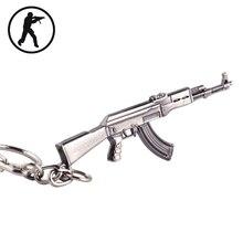 2015 Novelty Items Adventure Time AK47 Guns Men Keychain Punk Keychain Key ring Jewelry London Souvenirs Accessory Gift For Men недорого