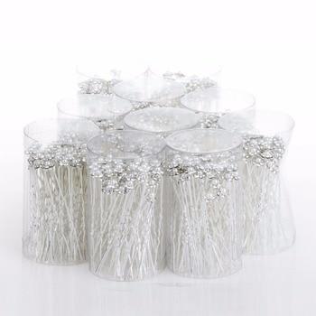 imixlot Wedding Hair Pins Simulated Pearl Flower Bridal Hairpins Bridesmaid Hair Clips