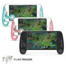 GameSir F1 Joystick Grip + F2 Trigger For Pubg Gamepad For Mobile Phone Game Controller L1R1 Shooter цена