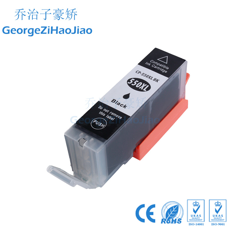 24 шт. 550XL совместимые чернильные картриджи для Canon PIXMA IP7250 IX6850 MG5450 MG5650 MX925