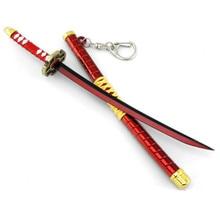 Weapon model One Piece Roronoa Zoro Katana Sword 22 cm Keychain